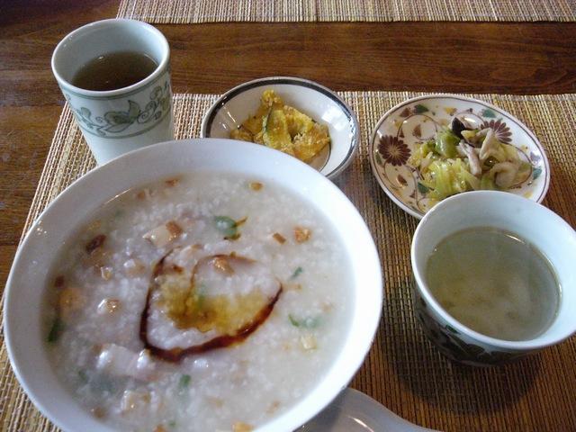 花果ランチ 中華粥