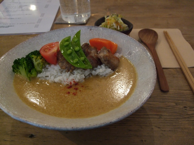 cafe tomiyama カレー(チキン)