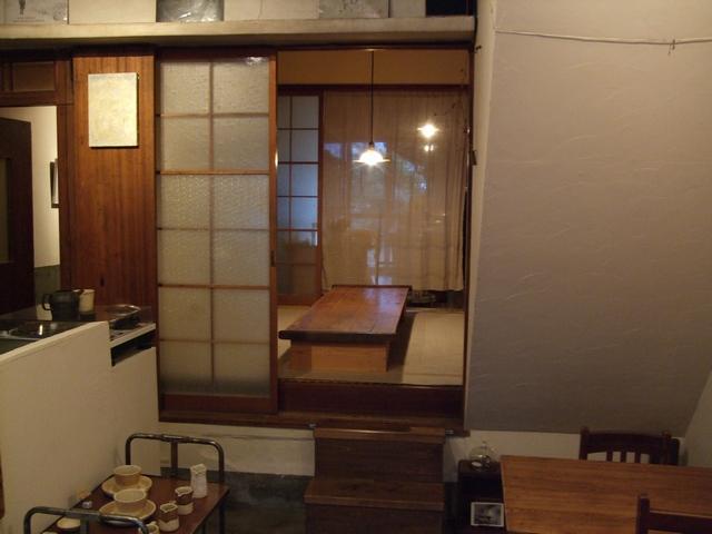 cafe tomiyama 奥の座敷遠景