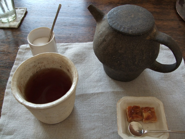 cafe tomiyama 紅茶