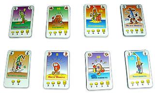 ボーナンザ:8種類の豆カード