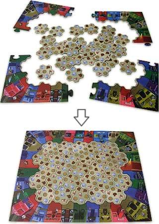 暗証番号を解け:ゲームボードを組む