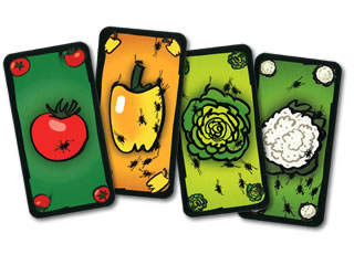 ごきぶりサラダ:野菜カード