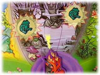 水晶をとりもどせ!:危険な森