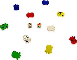 キーホルダーゲーム・ウシ:遊戯中