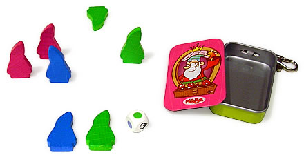 キーホルダーゲーム・7人のこびと:展示用写真