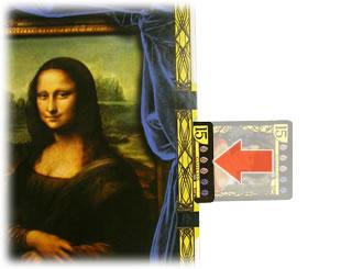 モナリザ・ミステリー:カードの挿入