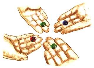 モナリザ・ミステリー:宝石を差し出す