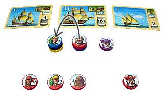 海賊組合:移動3