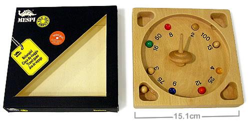 チロリアンルーレット(ミニ):箱と中身