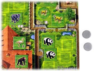 ズーロレット:宿舎の動物